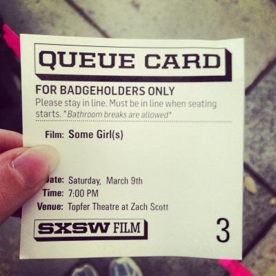 queue card